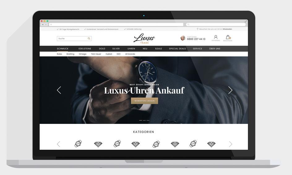 Onlineshop Uhrenhandel